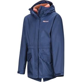 Marmot PreCip Plus Component Jacket Girls arctic navy
